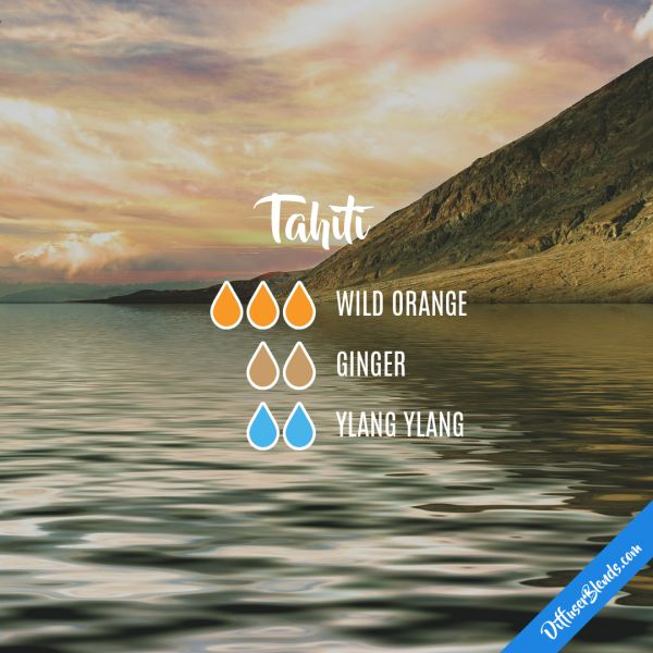 Tahiti - Essential Oil Diffuser Blend
