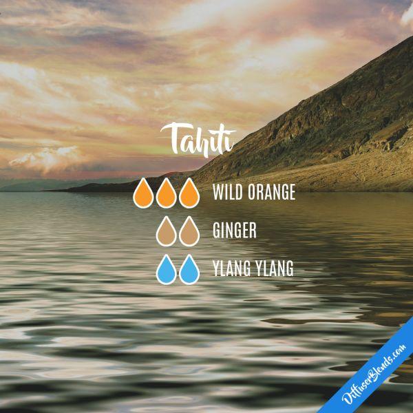 Tahiti - Essential Oil Diffuser Blend