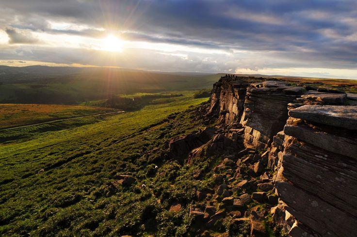 Stanage Edge, Peak District, England