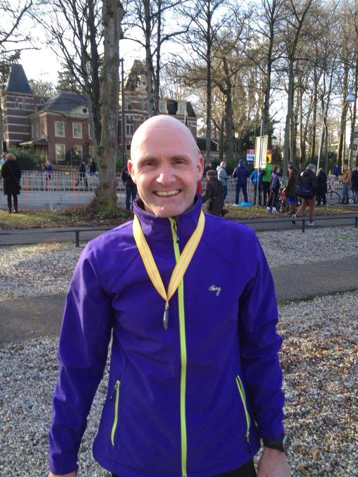 Midwinter Marathon Apeldoorn, 2-02-2014, 27,5 km