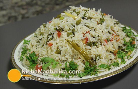chana pulao recipe - nisha madhulika