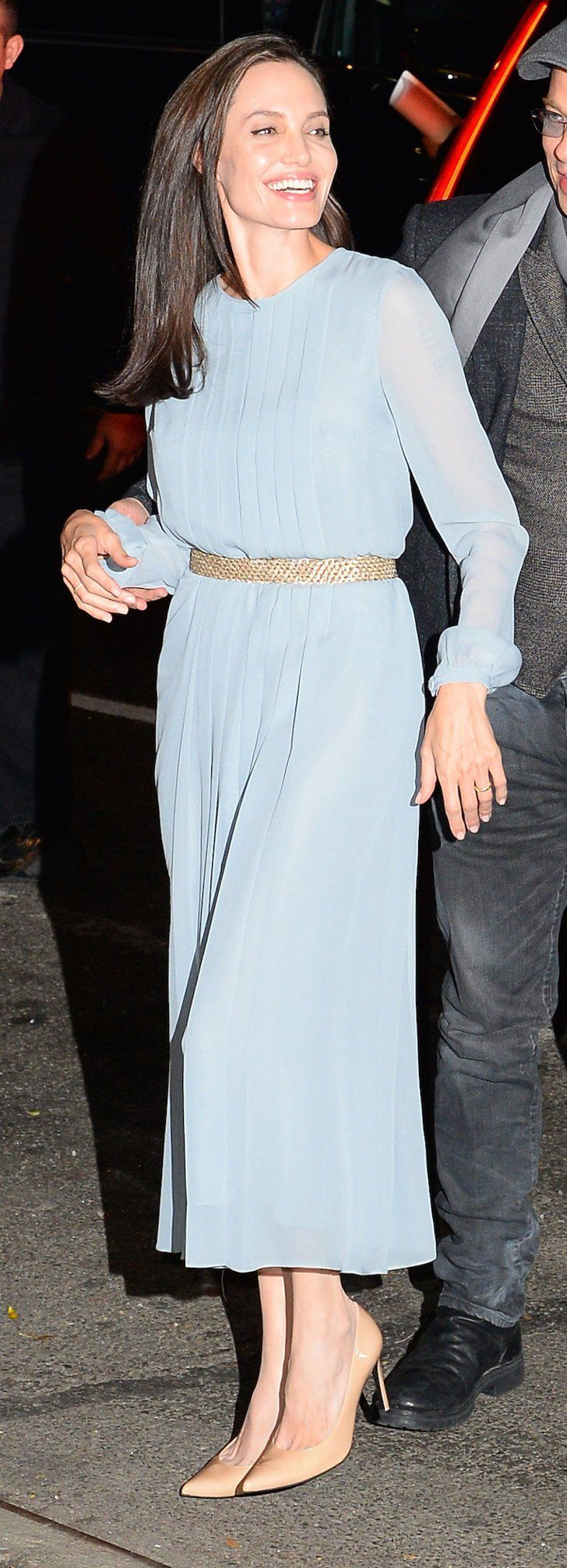Angelina Jolie Just Wore a Ladylike Look We Never Saw Coming