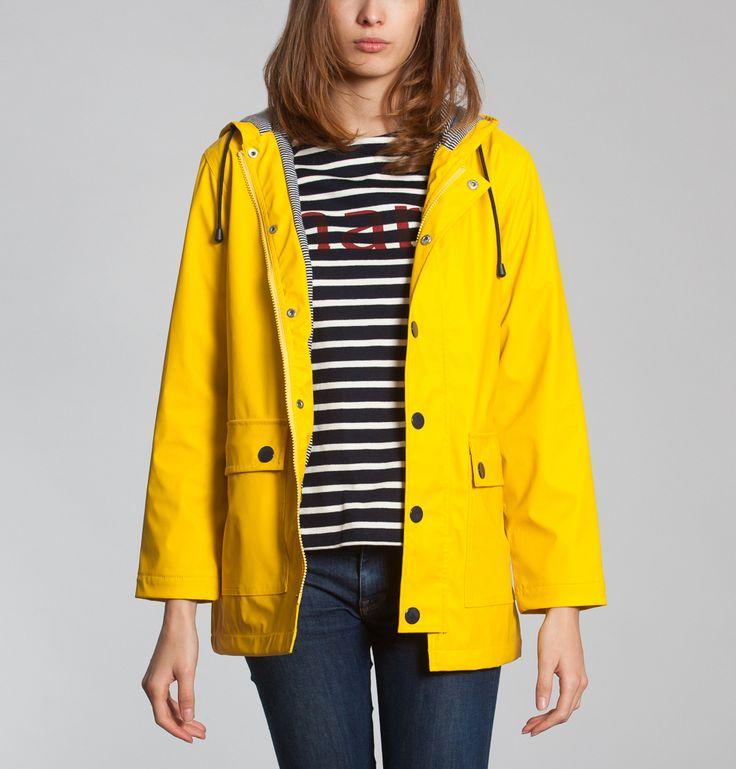 Manteau pluie femme avec capuche