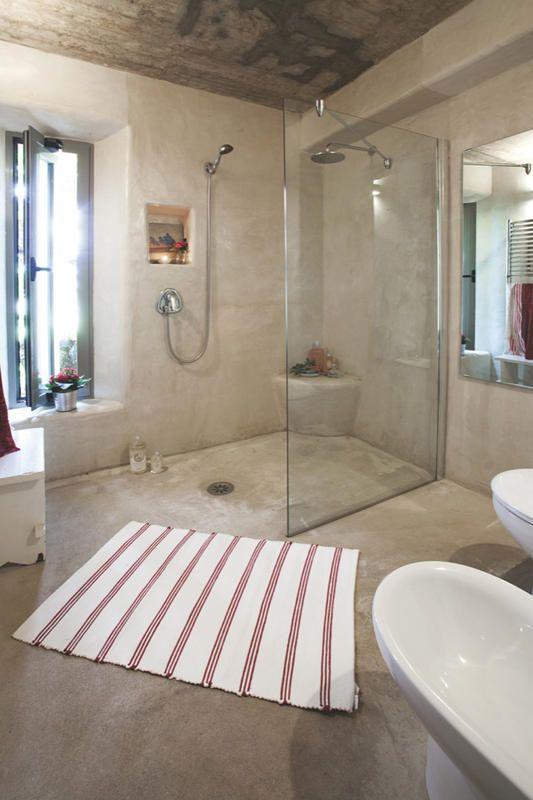 #Baño: Con #cemento #pulido