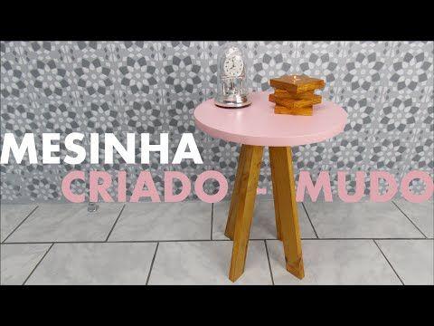 MESINHA CRIADO MUDO | DIY Móveis Reforma Quarto   YouTube