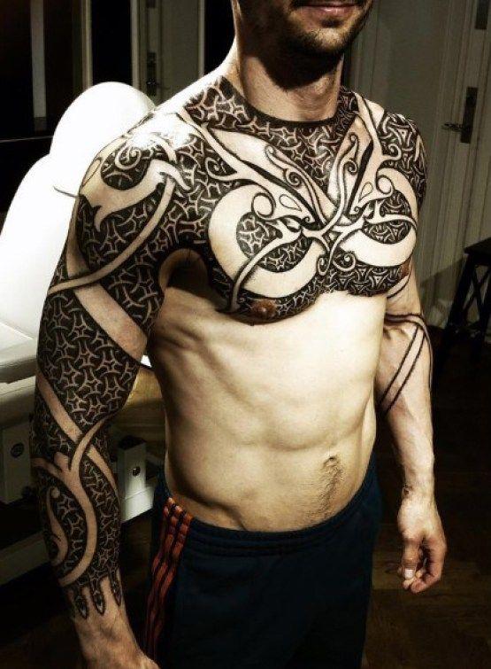 10 Best Images About Best Shoulder Tattoo Designs For Men