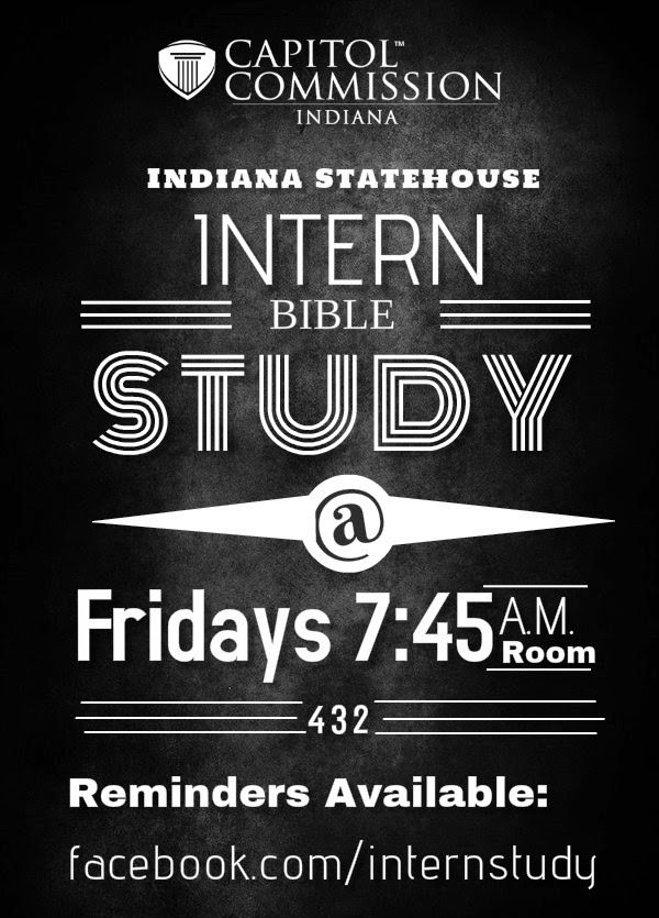 intern bible study flyer
