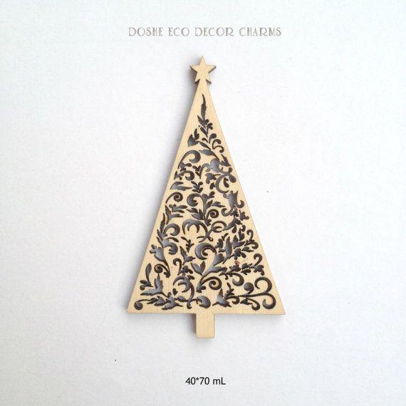 Incredibile albero di Natale a laser legno ornamento / decorazione di Natale / taglio Laser legno / incisione Laser / regali di Natale arredamento /Christmas / Idea