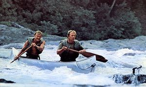 'We were all taking risks' … Jon Voight, left, and Ned Beatty.