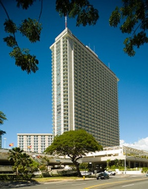 Hotel we stayed at- Ala Moana, Honolulu, Hawaii