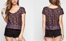 Latest Flower Pattern Custom Design T shirt for Ladies best buy follow this link http://shopingayo.space