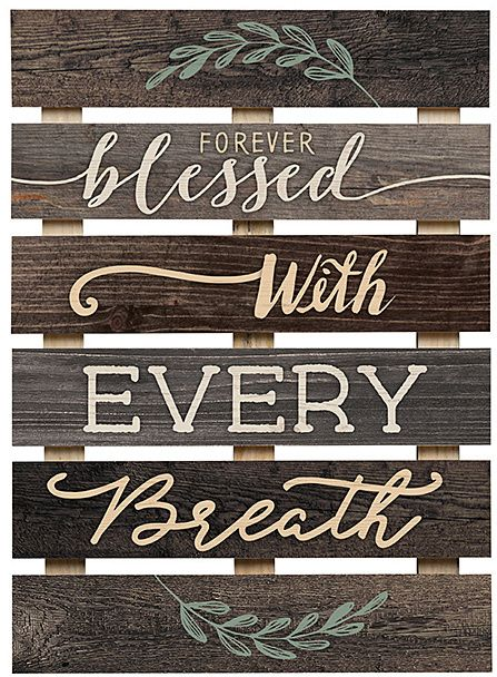 Black Forever Blessed Decorative Skid Diy And Crafts Pinterest