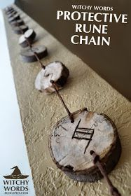 Witchy Words: Protective Rune Chain (House Cleansing Part 1)