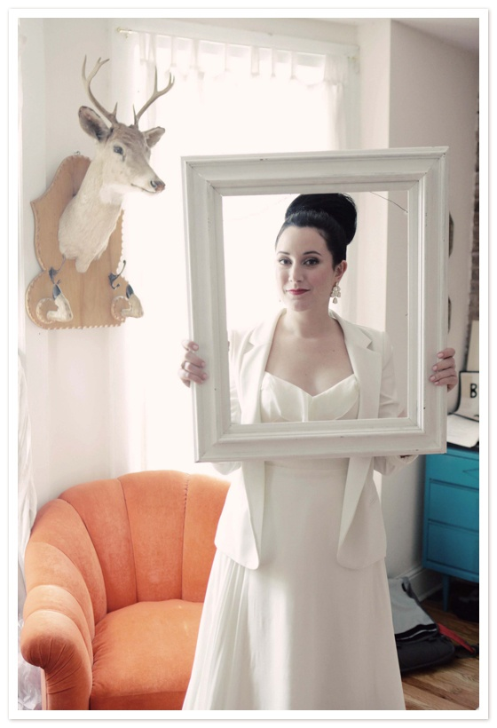 love the white blazer with the dress... by The Lovely Lens in Reverie Magazine
