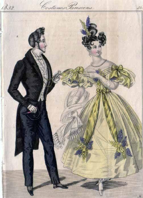 Men S Fashion Plates Victorian