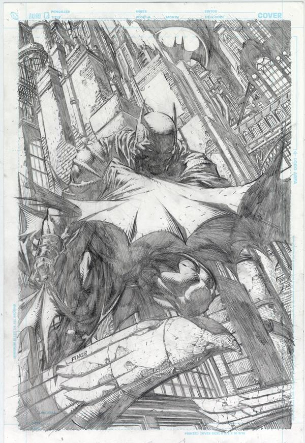 David Finch - Pencils for Batman #700 Cover