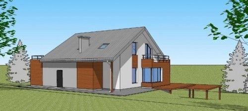 dom jednorodzinny w Przywidzu