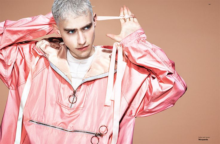 Olly Alexander (Years and Years) by Matt Irwin, Nicola Formichetti and Davey Sutton for Fucking Young OUTSIDER issue.
