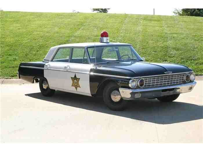 1962 Ford Galaxie Police Car