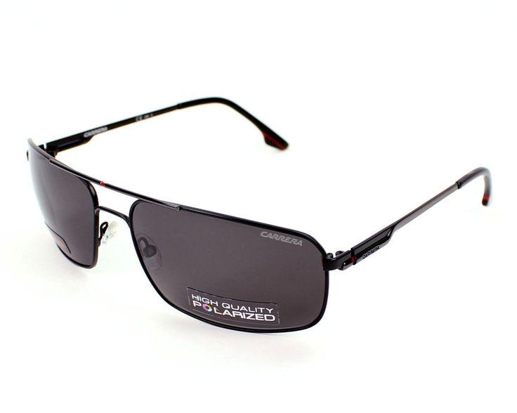Carrera Sunglasses carrera 60 832M9 Metal Black - Dark Ruthenium Grey polarized. Reference: carrera 60 832M9. Model: Male. Material: Metal. Colour: Black - Dark Ruthenium. Lens colour: Grey polarized.