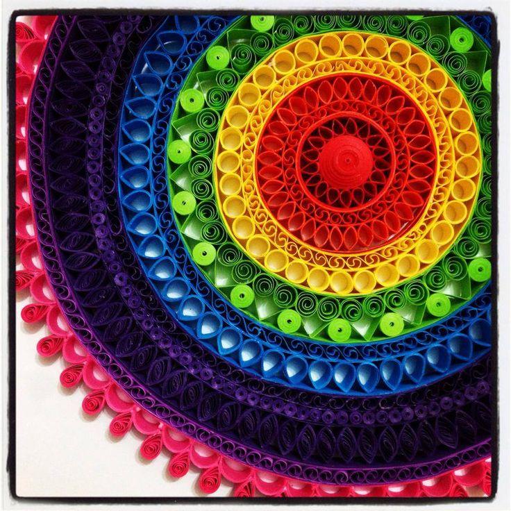 Wow! So colourful. Love the design!