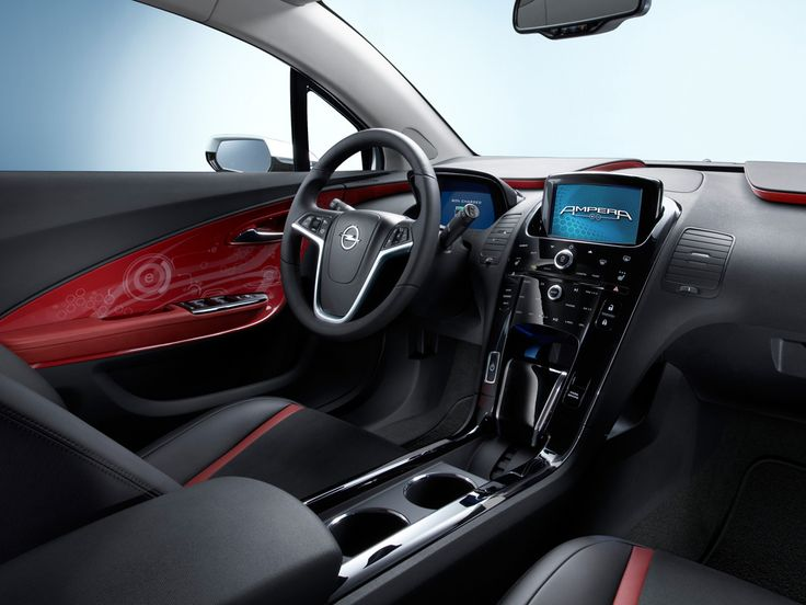 Opel Ampera - Cruscotto