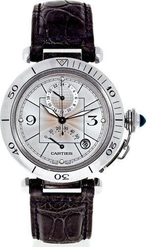 Cartier Pasha de Cartier 2388 GMT Power Reserve Men's Watch