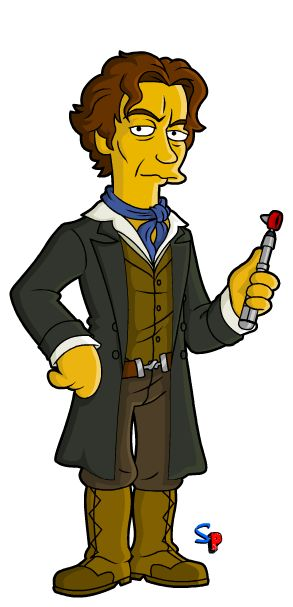 The 8th Doctor from The Night of the Doctor