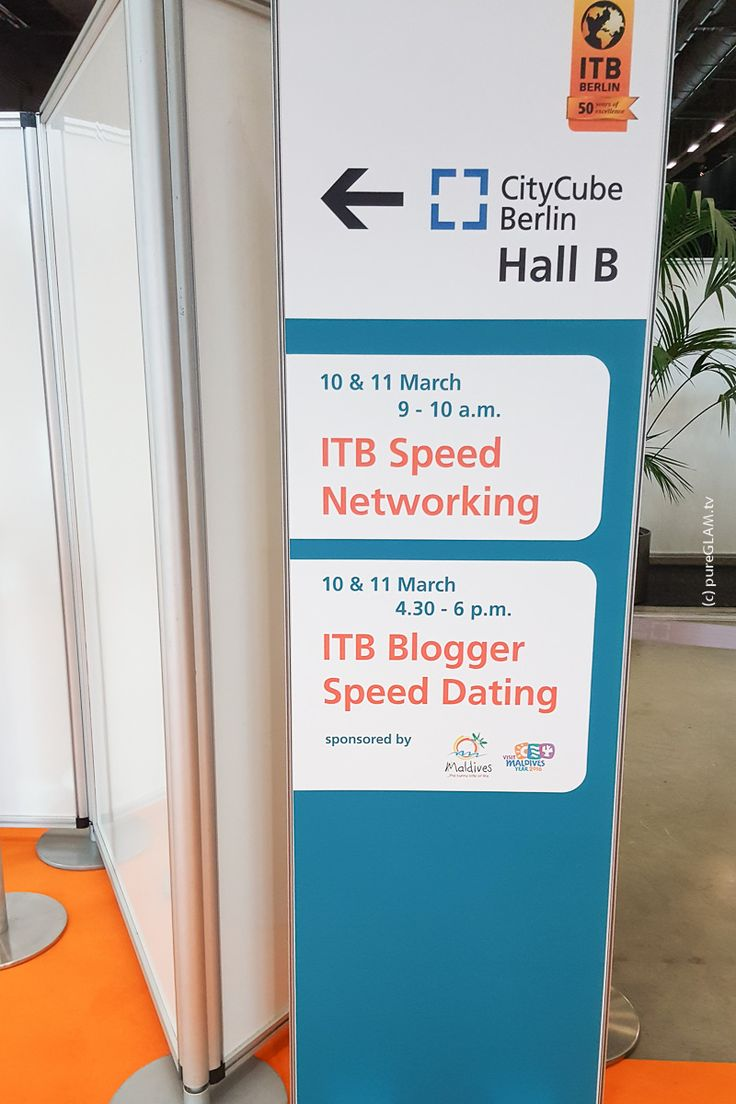 ITB-Bloggerspeeddating – Reisemesse Berlin – Informationen und Ablauf by pureGLAM.tv * Travel meets Fashion - my life!  #Blogger, #CityCube, #Events, #ITB, #ITBBerlin, #ITBBerlin2016, #ITBTermine, #News, #Reiseblog, #Reiseblogger, #Speeddating, #Travel
