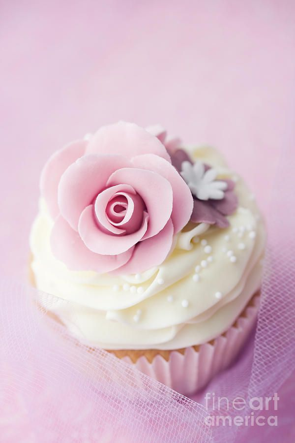 Wedding cupcake. Wouldn't it probably be easier and cheaper to just do wedding cupcakes? I'd dig it