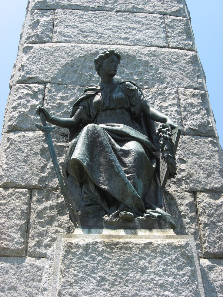 Minnesota Monument detail, Vicksburg National Military