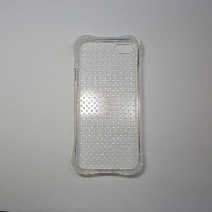 Apple iPhone 5G/5S/SE - Polka-dots Silicone Phone Case - 3.95$