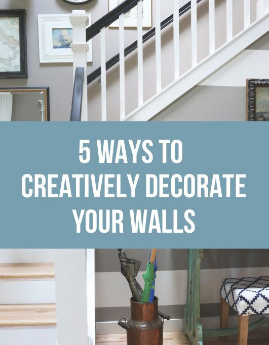 Best Decor Walls And Wallpaper Images On Pinterest Wallpaper - Decorating walls