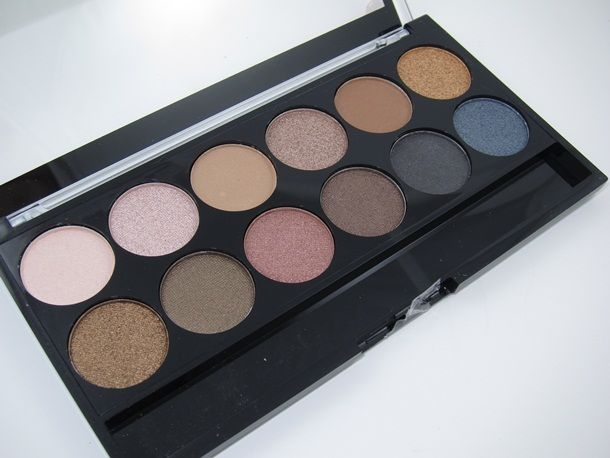 MUA Makeup Academy Undressed Eyeshadow Palette..so excited. I came across this! It's a cheap drug store brand here in the UK!