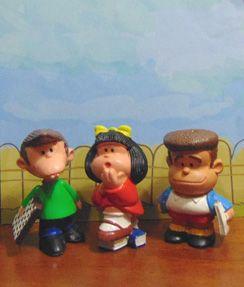 Mafalda e seus amigos...mara Maia&Borges