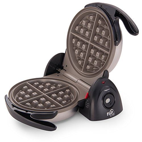Presto 03510 FlipSide Belgian Waffle Maker with Ceramic Nonstick Finish, 7-Inch, Black >>> You can find out more details at the link of the image.-It is an affiliate link to Amazon.