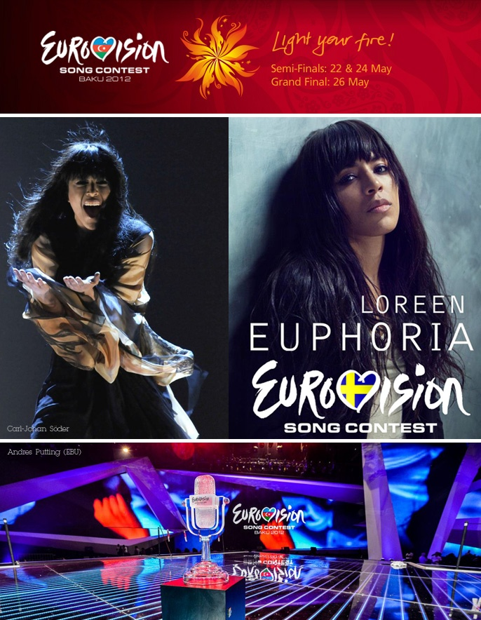 So its done... Congrats! #Sweden... #Eurovision 2012 Winner!