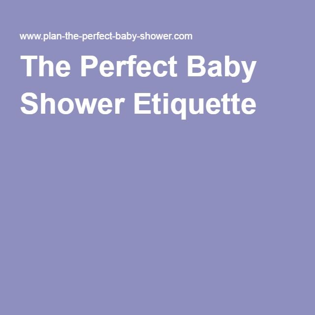 proper baby baby shower etiquette baby shower favors baby shower ideas