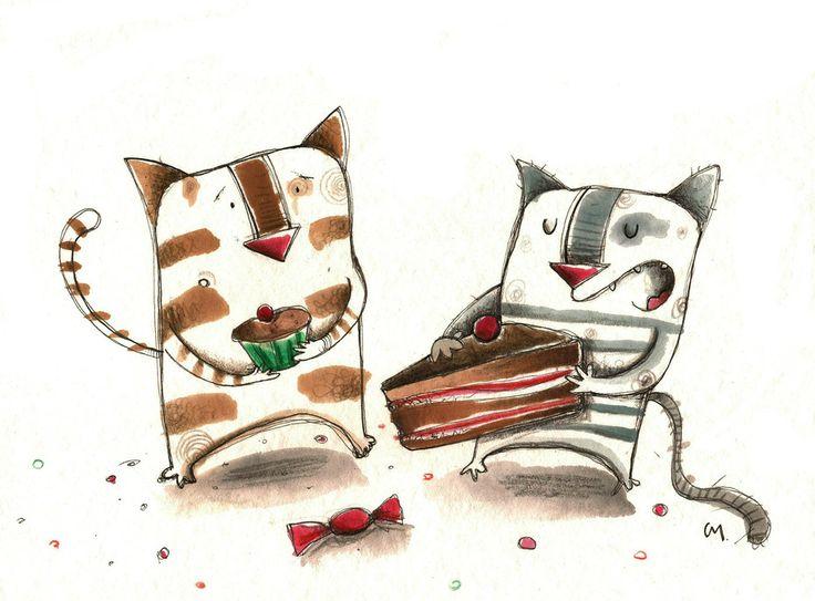 compartimos?, ilustración de Celine Meisser