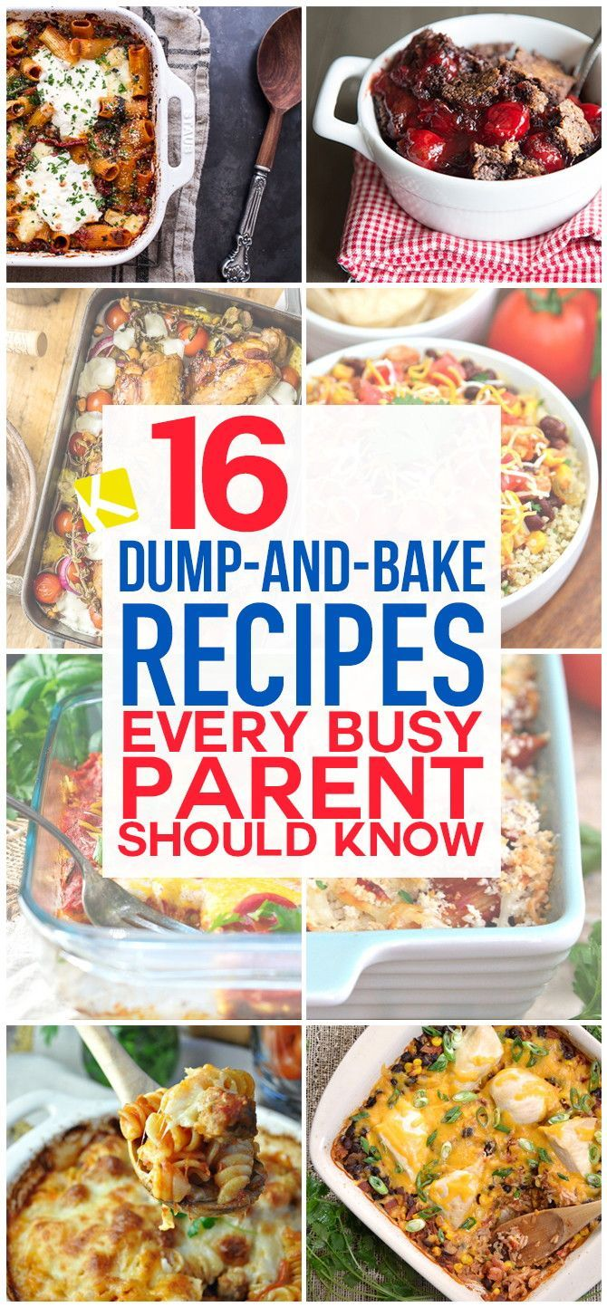 16 Dump-and-Bake Recipes Perfect for Busy Weeknights - The Krazy Coupon Lady