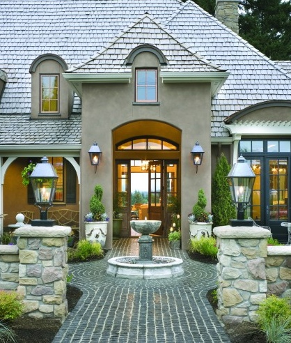 French Country Home Designs Courtyards on french country home 2 000 sf, french country style homes, french country plans, french country home designs, french country landscaping,