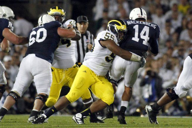 Somehow, Gardner got Michigan in range for Brendan Gibbons' 52-yarder to win it at the end of regulation. But it came up just short, setting up an overtime for the ages.  There was nothing doing offensively for each side in the first overtime. Nittany Lions kicker Ficken missed a 40-yarder wide right and gave Michigan a chance to end it, but Gibbons' 40-yard try was blocked and gave Penn State a chance.