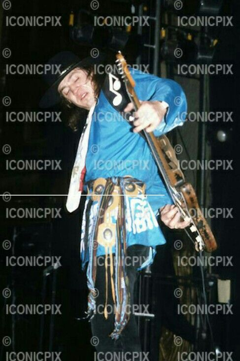 Stevie Ray Vaughan at the Beacon Theater, NYC - Dec 28,1983.