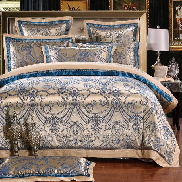 Chinese Wedding Style Jacquard Bedding 100 Cotton Bedding Sets