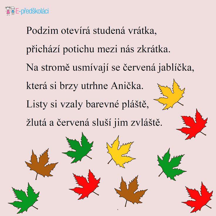 Podzimní básnička