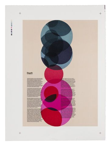 nice use of colour shape and tone.