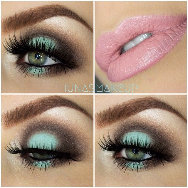 I need to find a minty matte or satin eyeshadow like this one! Anyone have any suggestions?