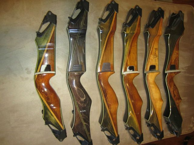 Nice Selecting Of Woods And Designs Archery Bow Riser