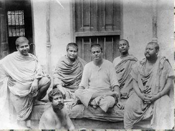 a very rare pic of Swami Vivekananda