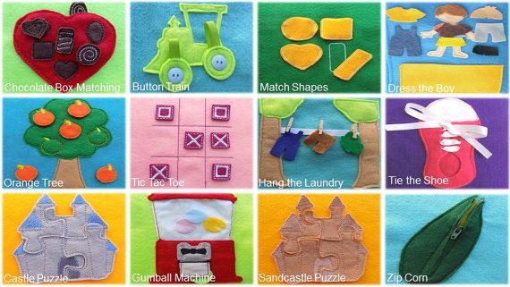 Customize Your Own Quiet Book by HandcraftingHarmony on Etsy